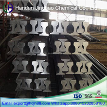 Hot rolled 50Mn 38kg p38 heavy steel rail for mine car