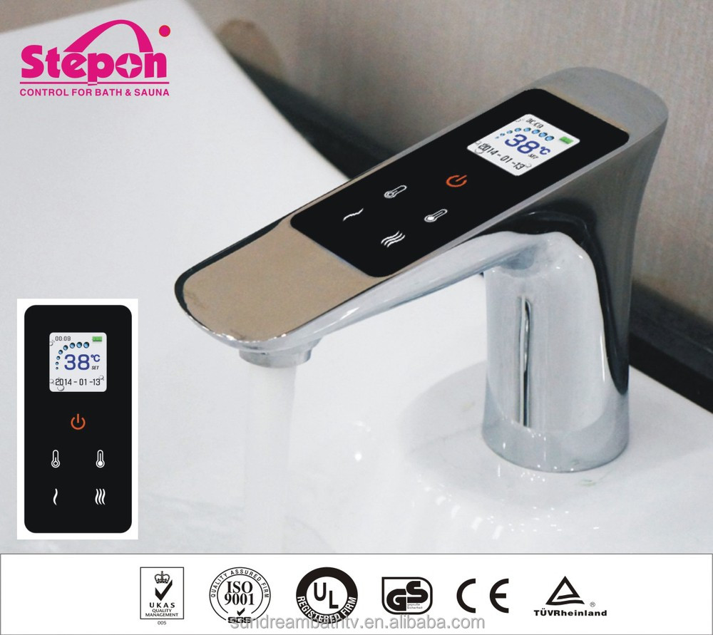 Digital Bathroom Faucet with Touch Control Panel