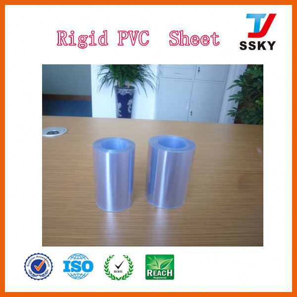 100% store sheet in with 0.3mm thickness film for tablet packaging colorful pvc rolls