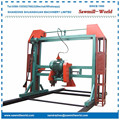 Double Saw Blade Angle Circular Wood Saw Mill Machine Cutting Machine For Wood