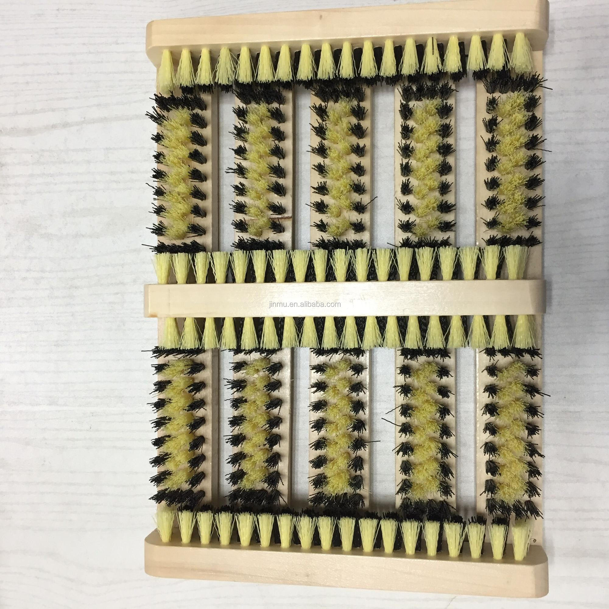 China wholesaler PP bristle material shoe boot scrubber brushes