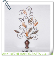 LC-89277 Colorful Metal Tree Branch Wall Decoration for Home