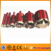 Long Service Life Sintered Diamond Hole Saw Core Drill Bit for Marble Masonry Granite