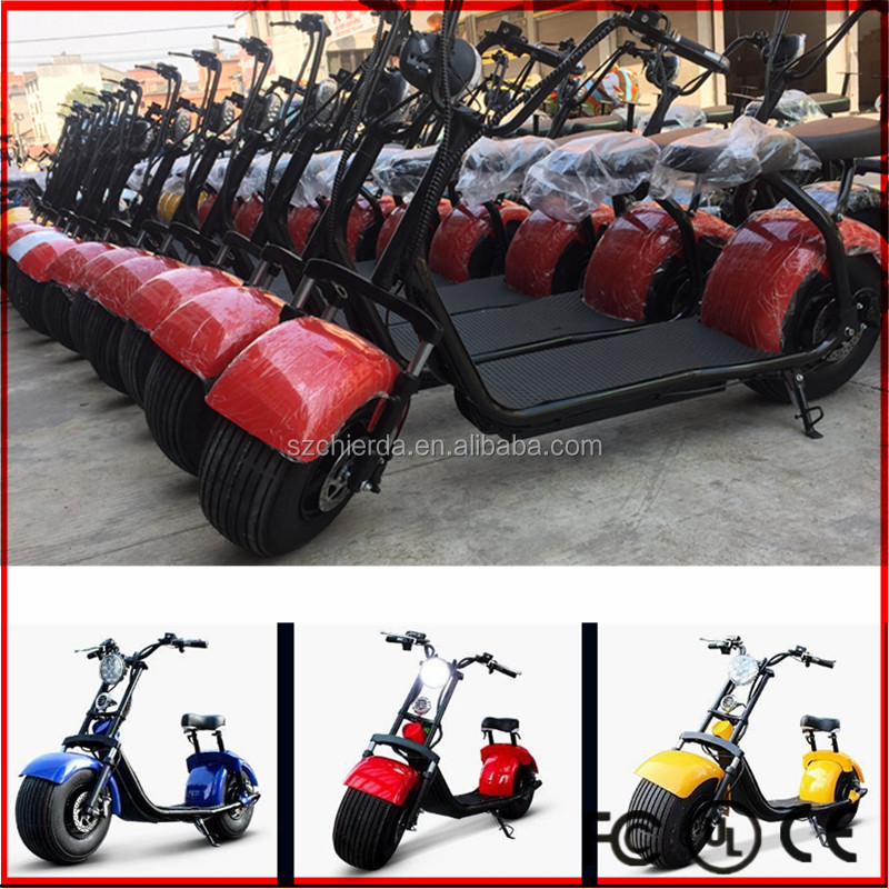 EEC Certification and No Foldable 1000w eec electric scooter type aproval COC citycoco