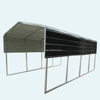 Strong and durable prefab steel carport kits for car shelter