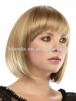 Golden lace wigs for White people