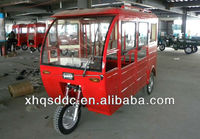 closed cabin passenger electric tricycle made in china