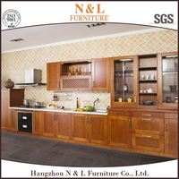 2016 China professional manufacturer customized fitted kitchen