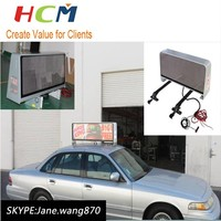 Programmable led sign outdoor waterproof car led billboard