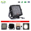 High Quality Black 6500k 360W Square LED Driving light for Auto parts