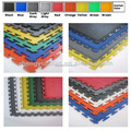 heavy duty industrial pvc garage workshop warehouse gym interlocking floor tile mat showroom