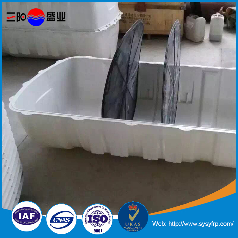 Factory direct supply high strength frp septic tank, grp tank