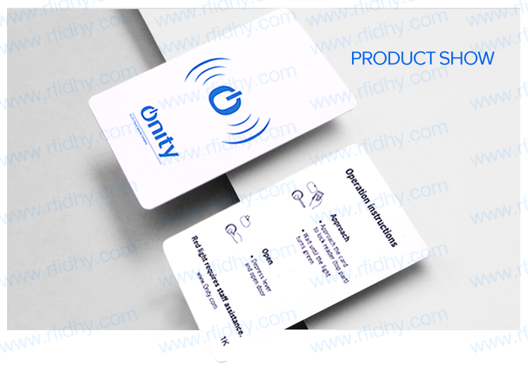 Special Offer Passive ISO14443A 13.56MHz MIFARE Smart Card