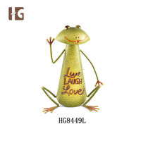 High Quality Metal Frog Garden Decoration