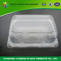 Biodegradable eco friendly plastic packaging for baked goods