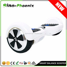 Smart two wheel self-balancing electric scooter with CE , ROSH , MSDS certificate (SMART-C)
