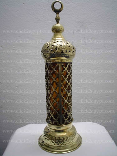 Islamic Handmade Candle Holder / Incense Burner Lamp