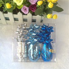 Christmas balloon curling pp gift wrap ribbon bow sets
