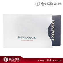 Low Cost Aluminum Blocking Card Sleeve / RFID Secure Wallet