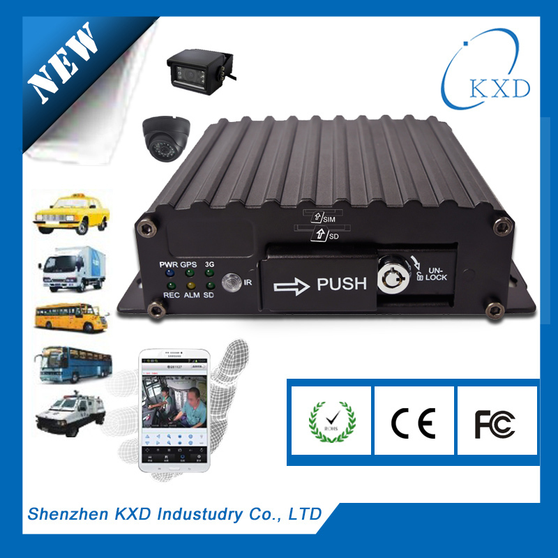 4 Channel CAR DVR MDVR for all car and 4 channel usb dvr