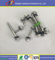 Roofing screw with reduced drilling point