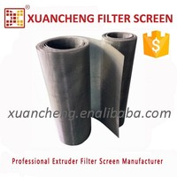 Stainless Steel Filter Screen Mesh netting rolls for compounds extrusion lines