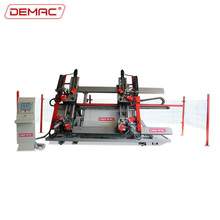 Aluminum window four head corner crimping machine combining machine