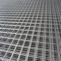 alibaba express Flat Square Heavy Gauge 2x2 Galvanized Welded Wire Mesh Panel