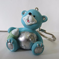 Custom polyresin keychain vners brand with bear statue