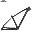 27 5 mtb frame Hard Tail mountain Bike Carbon Fiber Frame 142mm Thru Axle and 135mm Quick Release