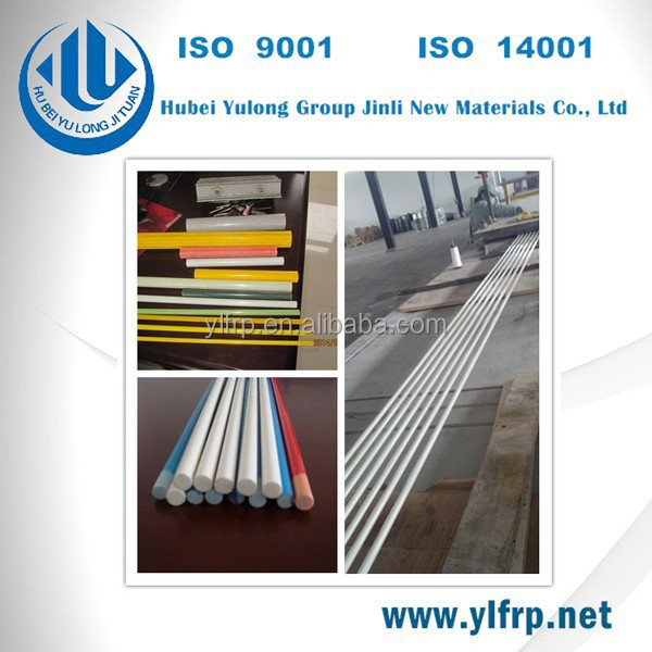 Fiberglass Pultruded FRP Rod FRP Profile, Fiberglass Rod, 8.5 mm fiberglassrod customize FRP products