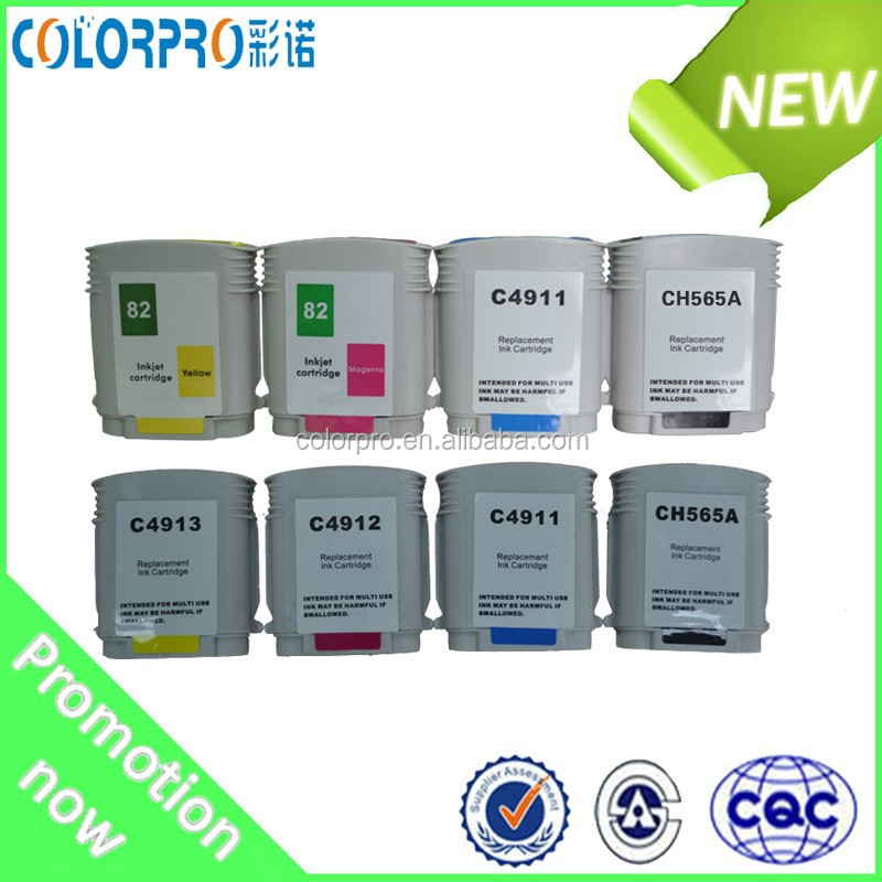 Compatible for HP 82 ink cartridges for HP 500/800/815