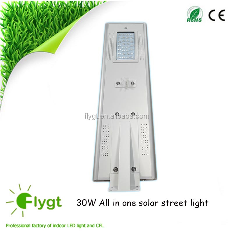 integrated solar street lamps integrated solar street garden lamps Factory Price street outdoor road sloar light