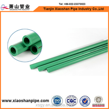 DIN standard plastic water supply piping system green pipe ppr price