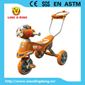 CHEAP BABY TRICYCLE SIMPLE TRICYCLE WITH MUSIC AND LIGHT WITH PUSHBAR
