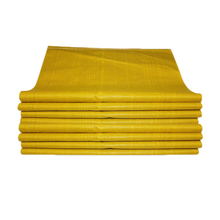 yellow plain pp woven packing sack for Potatoes tomatoes onion all kinds of vegetables,for 25kg/50kg