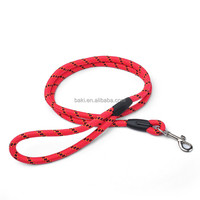 Hot Sale Pet Red Nylon Rope Dog Leash Parts