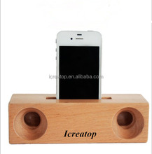 Mini wooden amplifier ,wood wireless speaker sound box audio for smart phone and PC table