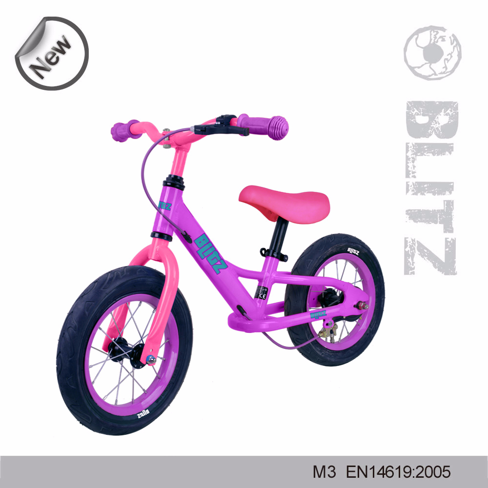 2015 fashion hot sell girl's cartoon balance bicycle kids