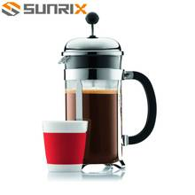 Durable And Heat-Resistant Stainless Steel French Coffee Press