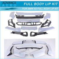 FOR 07-10 BMW X5 E70 13PCS PP FRONT BUMPER LIP SPOILER BODYKITS