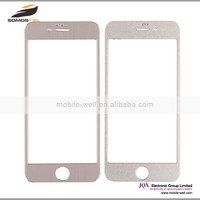 [Somostel] Glass 9H Hardness Tempered Glass with Metal Frame Design Screen Protector Film for iPhone 6
