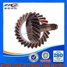 Truck Parts ISO/TS16949 Certified Steel Crown Pinion With Ratio 24/29