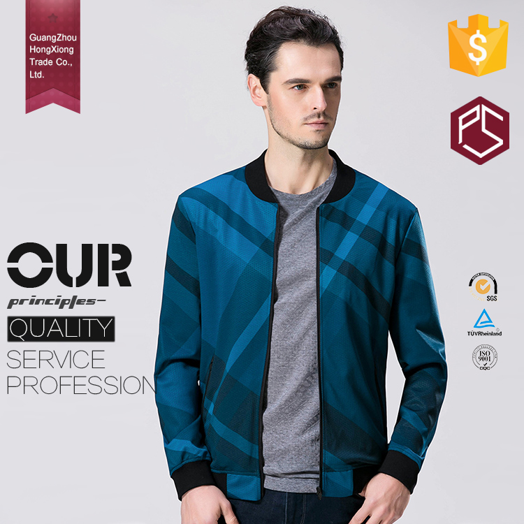 Guangzhou mens clothing manufacturers satin sublimated print custom bomber jackets