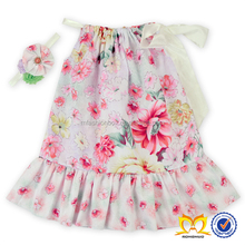 Floral Printed Baby Summer Dresses Latest Children Frocks Designs Baby Girls Party Dress Design