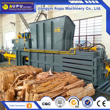 Safety waste carton cardboard horizontal baler automatic baler