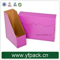 Wholesale Custom Antique Table Paper Office Box File Racks