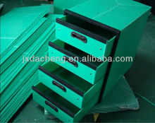 2013 cheap ecofriendly pp plastic drawer storage box