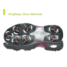 Golf shoes sole made in Jinjiang rubber outsole EVA middle sole TPU accessories men sizes 39#-46# KSHY-6113