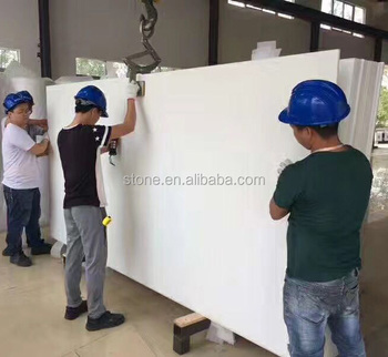 Artificial Marmoglass White Marmo Stone